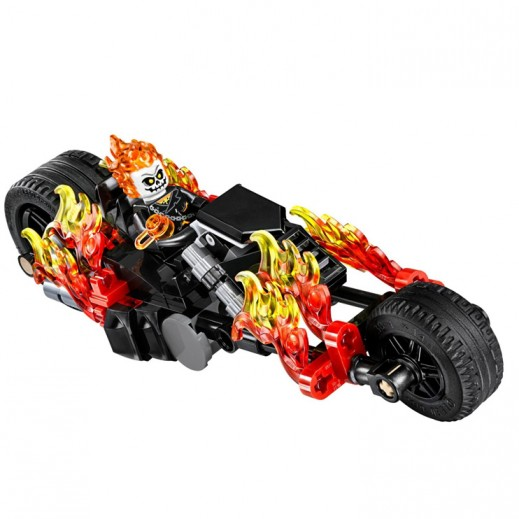 Lego Marvel Super Heroes Spiderman Ghost Rider Teamup