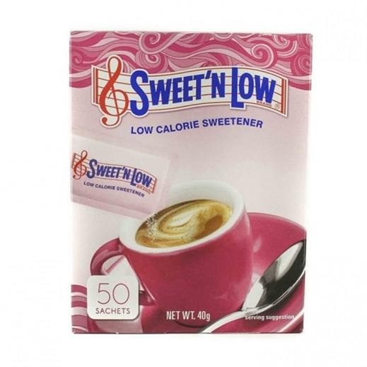 Sweet N Low Calorie Sweetener 50 sachets 40 g