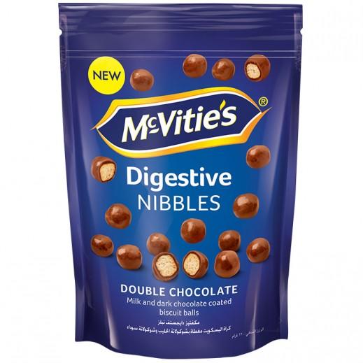 Mc Vities Digestive Double Chocolate Nibbles 120 g