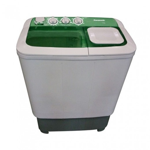Panasonic 6 Kg Twin Tub Washing Machine 2 Prog - White & Green - delivered by  AL-YOUSIFI after 3 Working Days