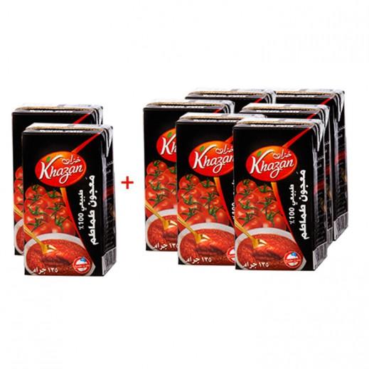 Khazan Tomato Paste 135 g (6+2 Free)