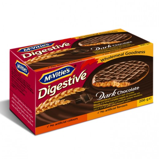 Mc Vitie's Digestive Dark Chocolate 200 g