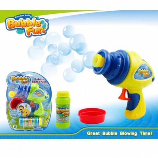 Bubble Fun Friction Power Space Gun Bubble ( Yellow )