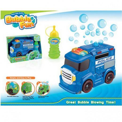 Bubble Fun Police Truck Bubble ( Blue )
