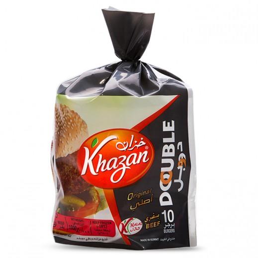 Khazan Frozen Double Beef Burger 1 kg