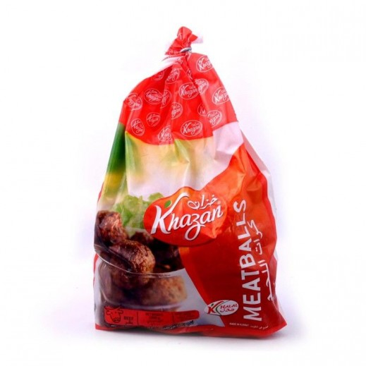 Khazan Frozen Beef Meat Ball Bag 1 kg