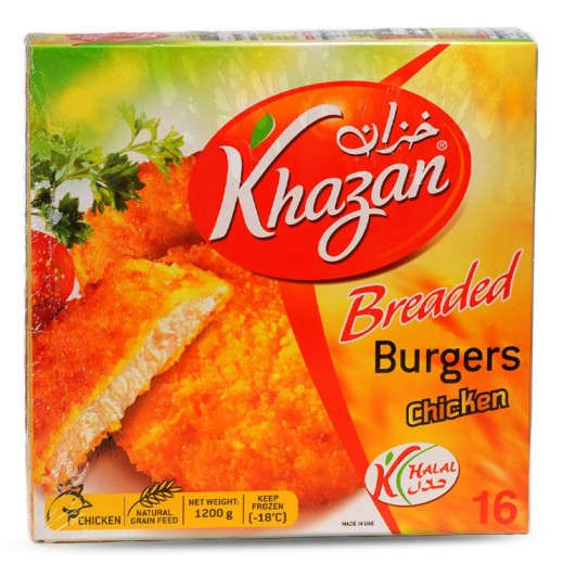 Khazan Breaded Chicken Burger 1050 g (2+1 Free)