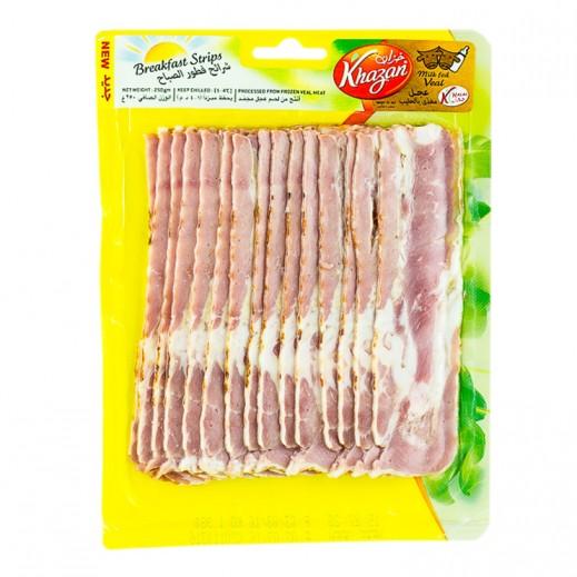 Khazan Breakfast Beef Strips 250 g