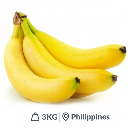 Fresh Filipino Bananas (3 kg Approx)