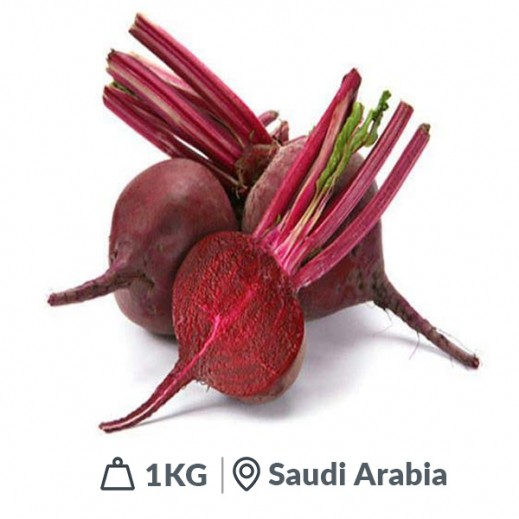 Fresh Red Beet Root Saudi (1 kg Approx)