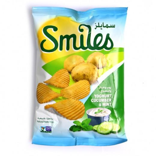 Fico Smiles Yoghurt Cucumber & Mint Chips 170 g