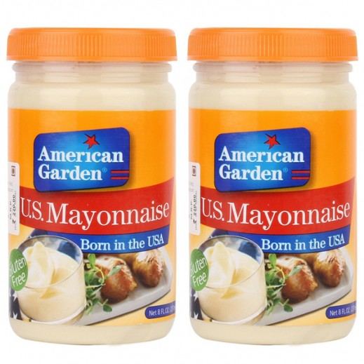 American Garden US Mayonnaise 2x473 ml (15% off)