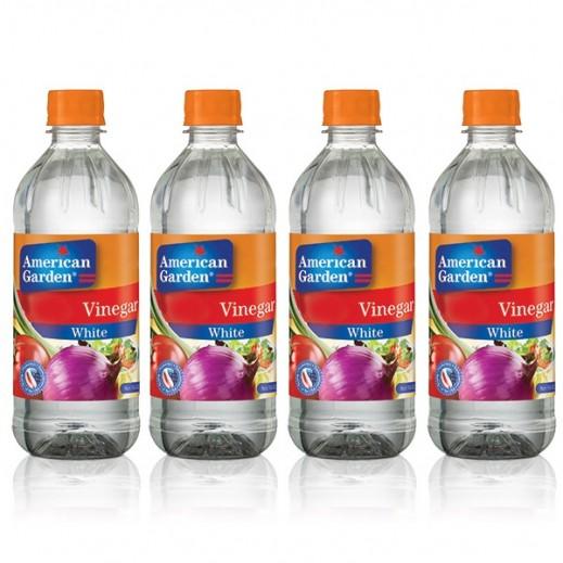 American Garden White Vinegar 473 ml (3+1 Free)