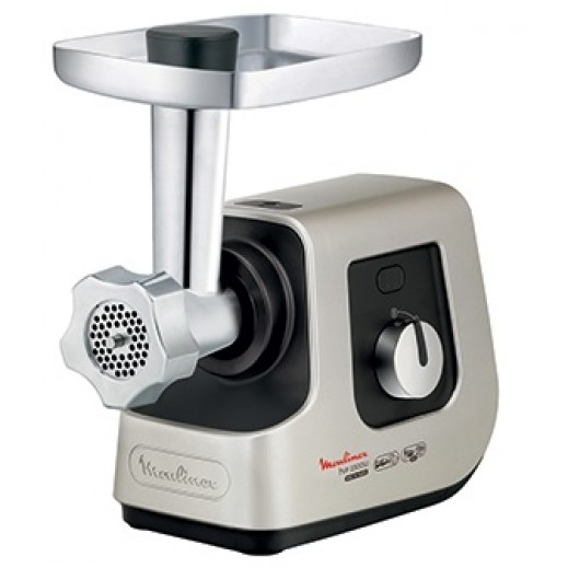 Moulinex 2300 W 3 Grids Meat Mincer - Silver  - delivered by  AL-YOUSIFI after 3 Working Days
