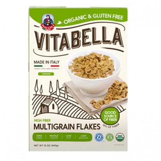 Vitabella Organic & Gluten Free High Fiber Multigrain Flakes 300 g