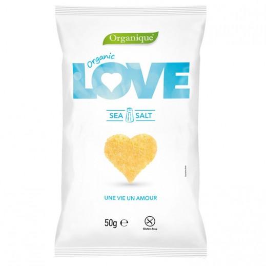 Organic Love Organic Corn Snack With Sea Salt 50 g