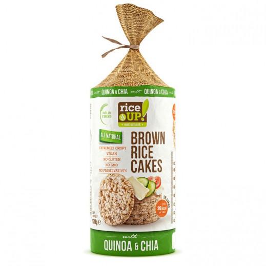 Rice Up Gluten Free  Brown Rice Cake with Quinoa Chia 120 g
