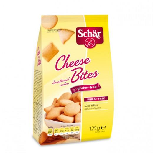 Schar Gluten Free Cheese Bites 125 g