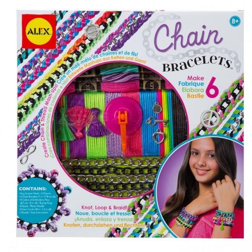 Alex Panline Chain Bracelets