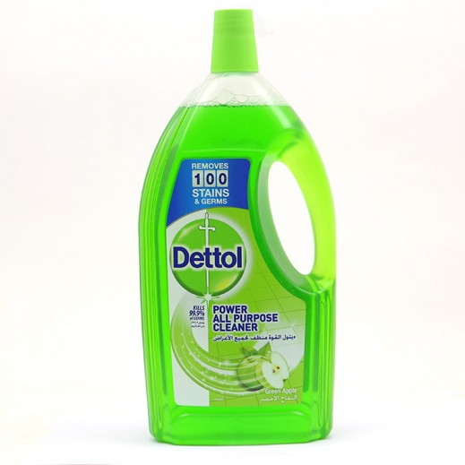 Dettol Disinfectant All Purpose Cleaner Green Apple 900 ml