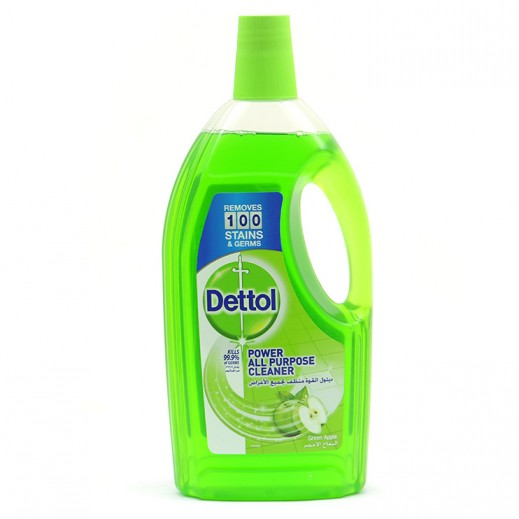 Dettol Disinfectant All Purpose Cleaner Green Apple 1.8 L