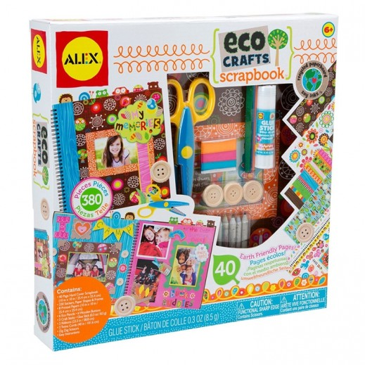 Alex Panline My Eco Crafts Scrapbook Set