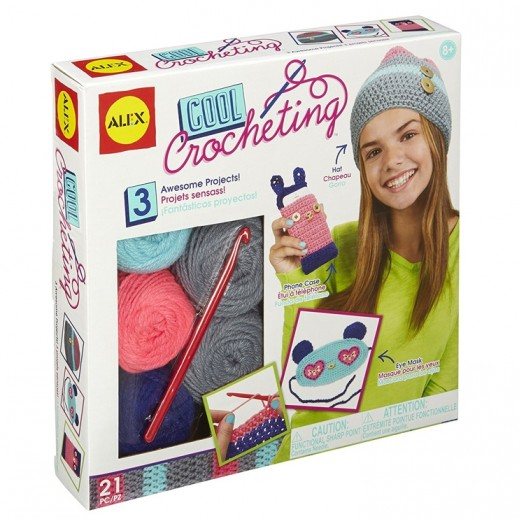 Alex Panline Cool Crocheting Crochet Craft