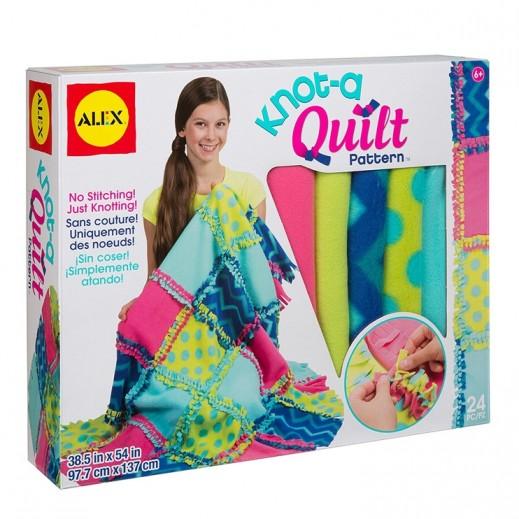 Alex Panline Craft Knot A Quilt Pattern Kit