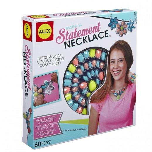Alex Panline Make A Statement Necklace Craft Set
