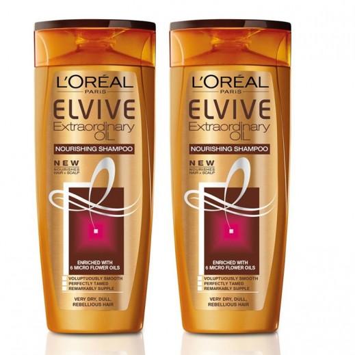 L'oreal Elvive Extraordinary Oil Very Dry Shampoo 2x400 ml