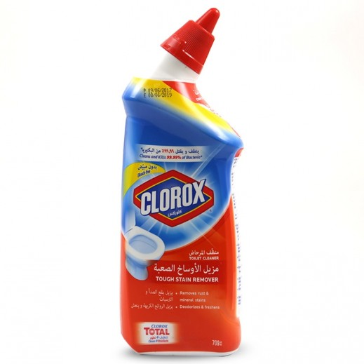 Clorox Toilet Cleaner Touch Stain Remover 709 ml