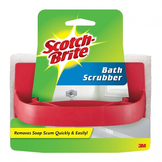 Scotch-Brite Handled Bath Scrubber