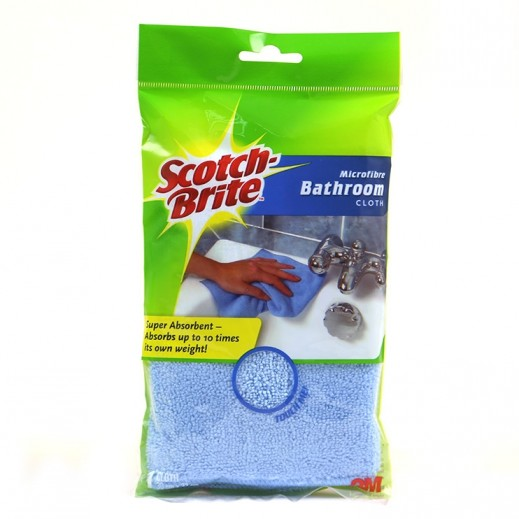 Scotch-Brite Microfibre Bathroom Cleaning Cloth