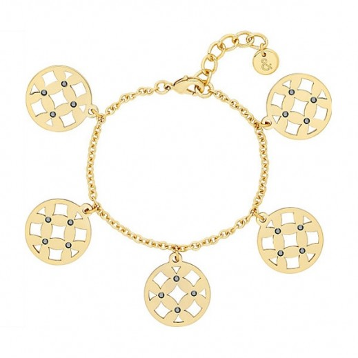 Lola & Grace Arabesque Filigree Small Disc Bracelet - delivered by Beidoun