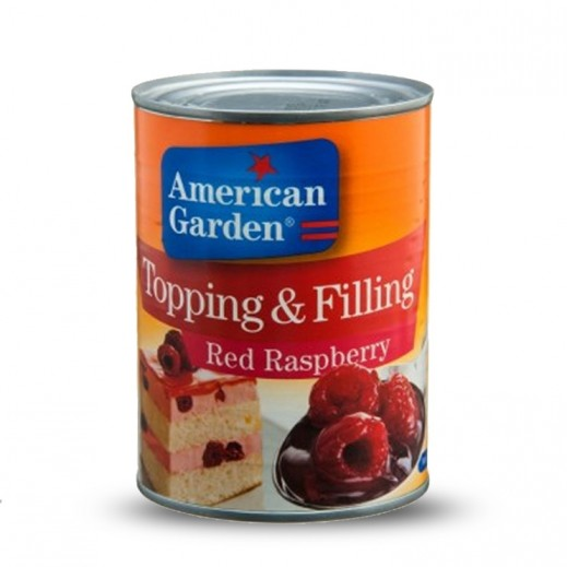 American Garden Red Raspberry Topping & Filling 595 g