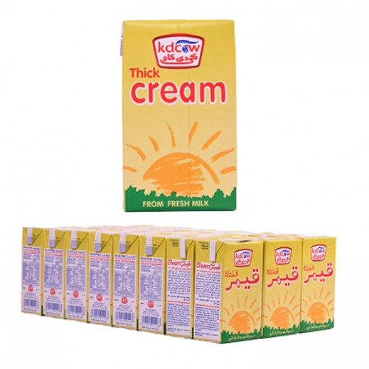 KDCOW Thick Cream 24x250 ml