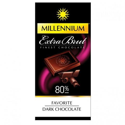 Millennium Extra Brut Finest Favorite Dark Chocolate 100 g