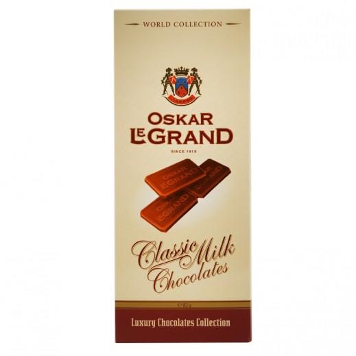 Oskar Le Grand Classic milk Chocolate 82 g