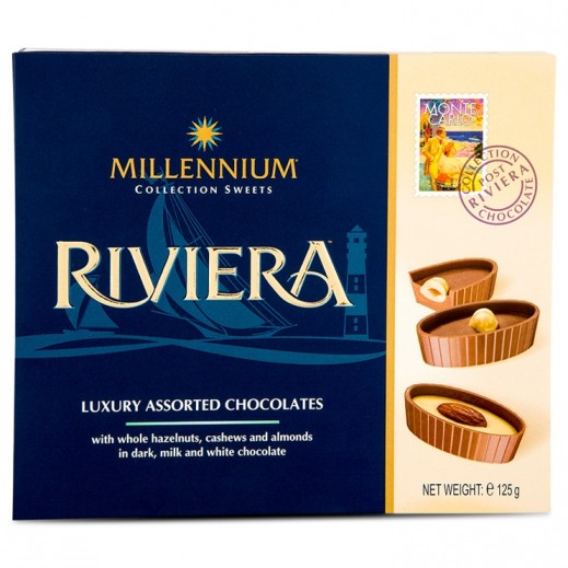 Millennium Riviers luxury Assorted Chocolate 125 g