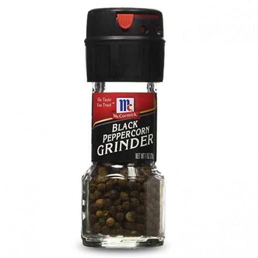 McCormick Black Peppercorn Grinder 28 g