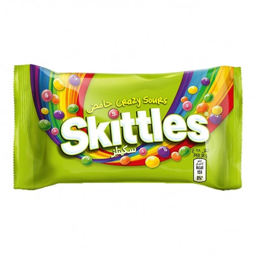 Skittles Crazy Sours 38 g