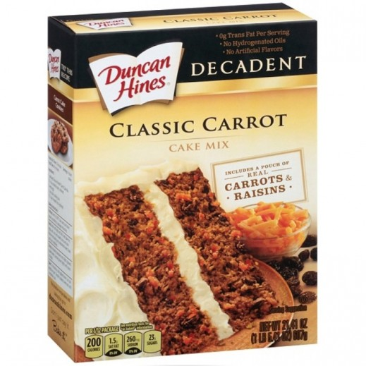 Duncan Hines Decadent Classic Carrot Cake Mix 607 g