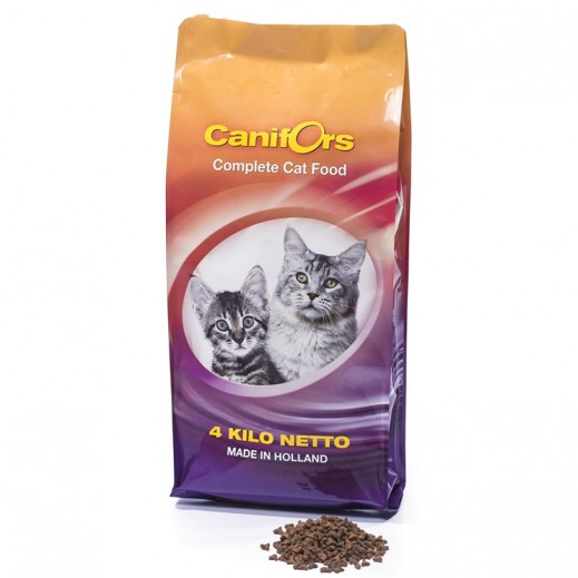 Canifors Prime Class Cat Food Dry Complete 4 kg