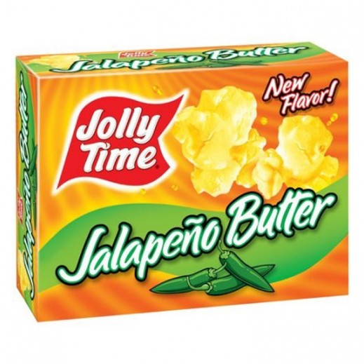 Jolly Time Jalapeno Butter Microwave Pop Corn 255 g