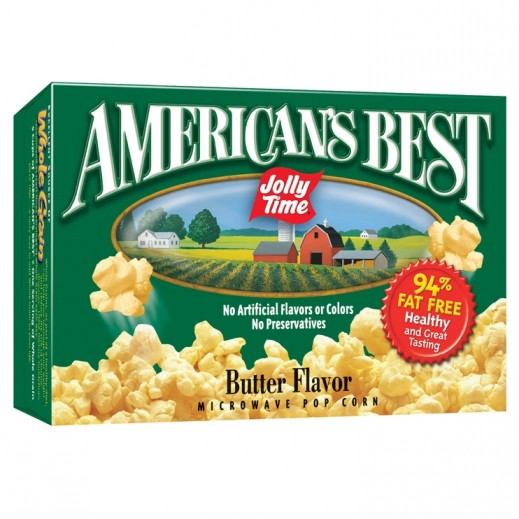 Jolly Time American Best Butter Microwave Popcorn 255 g