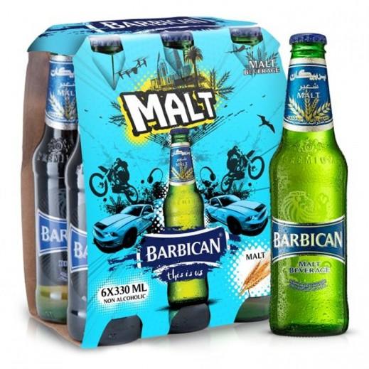 Barbican Regular Malt Beverage 6 x 330 ml