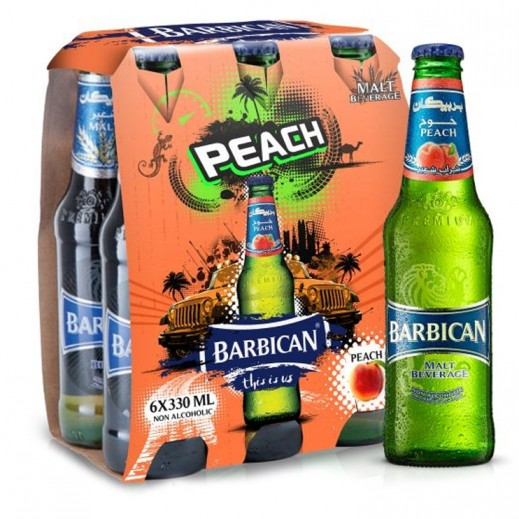 Barbican Peach Malt Beverage 6x330 ml