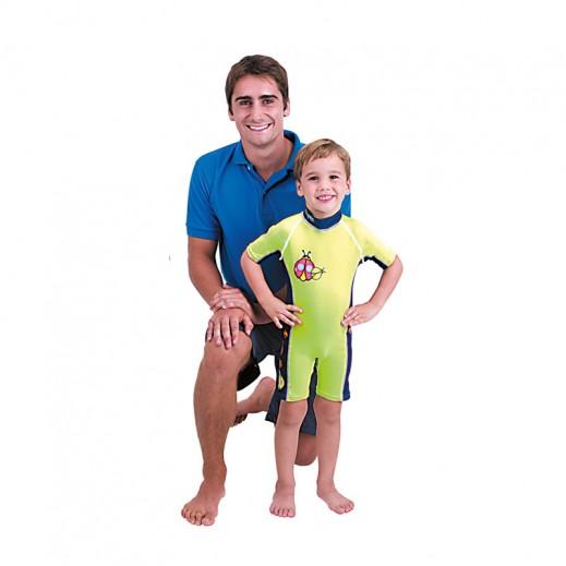 Bestway UV Careful Sun Suits For Boys - Light Green (M-L)