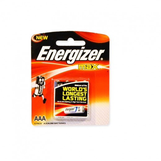 Wholesale - Energizer Max Alkaline AAA Battery (48 pieces)
