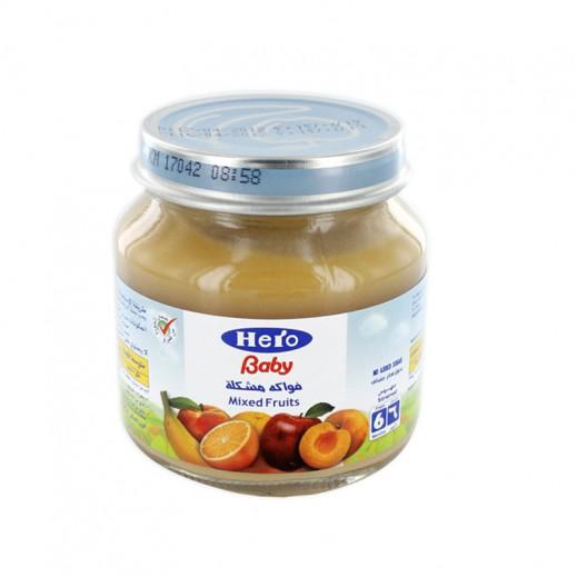 Wholesale - Hero Baby Food Jar -Mixed Fruits 125 g (12 pieces)